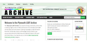 Plymouth LGBT Archive Home Page