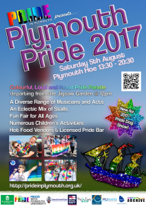Plymouth Pride Poster 2017