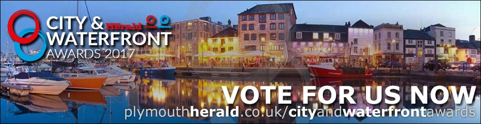 Vote for Plymouth Pride in the 2017 City & Waterfront Awards 2017