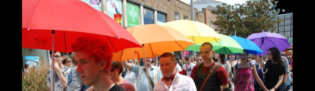 Pride Colours – Plymouth Pride Parade 2014