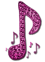 Pride Purple Music Note