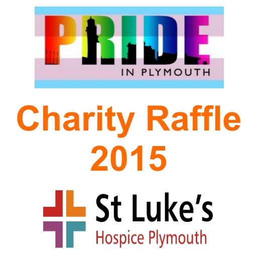 Pride In Plymouth Pride Charity Raffle 2015