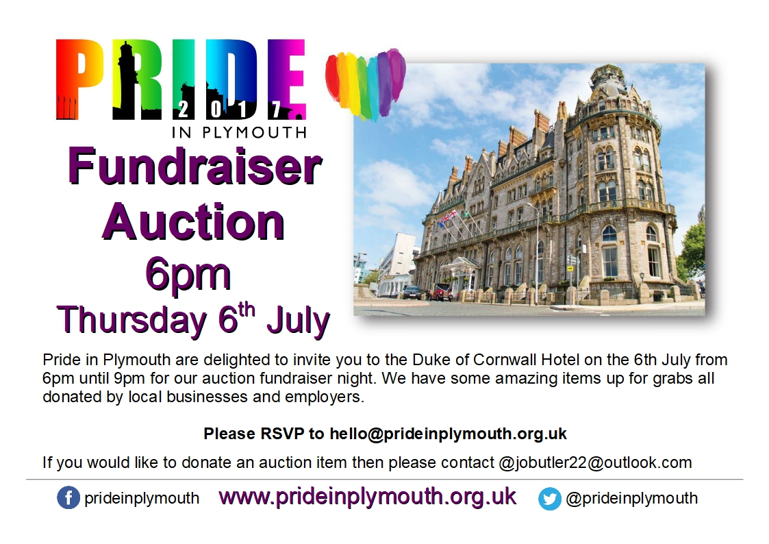 Pride Auction Invite