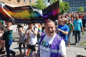 Spectrum Choir Plymouth Pride Parade 2015