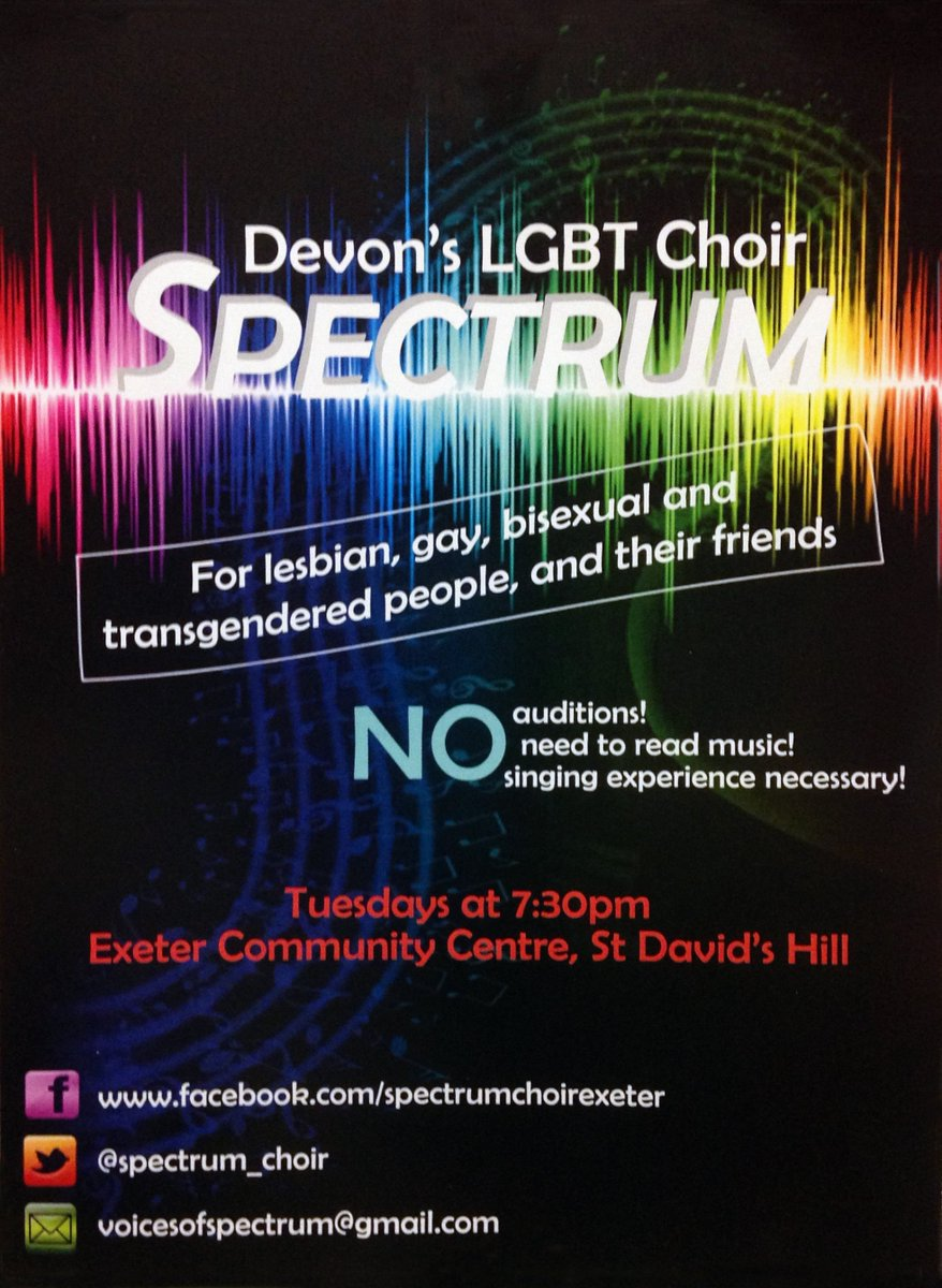 Spectrum Choir Poster