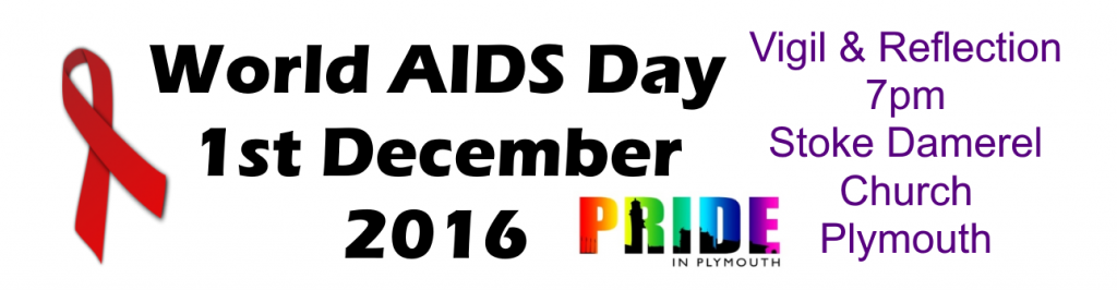 World AIDS Day 2016 Plymouth Vigil