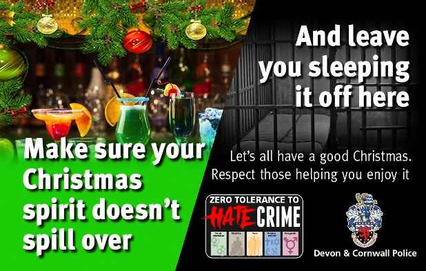 Christmas Hate Crime Bars