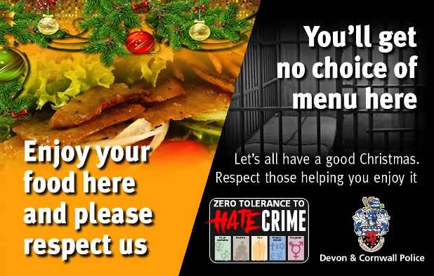 Christmas Hate Crime - Take Away