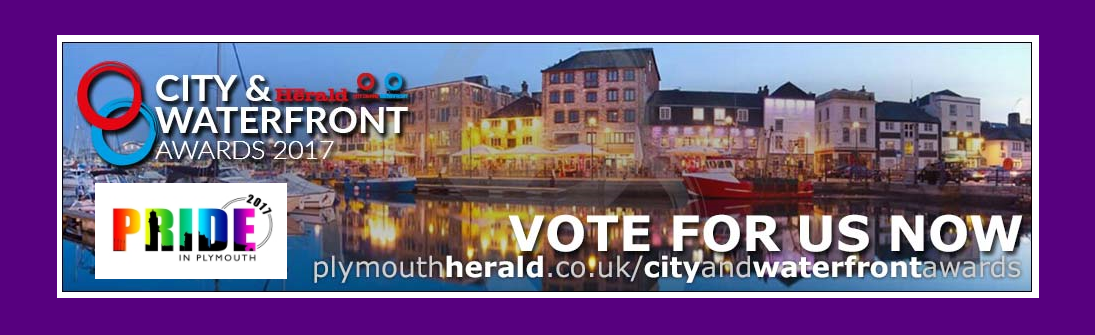 Vote for Plymouth Pride in the City & Waterfront Awards