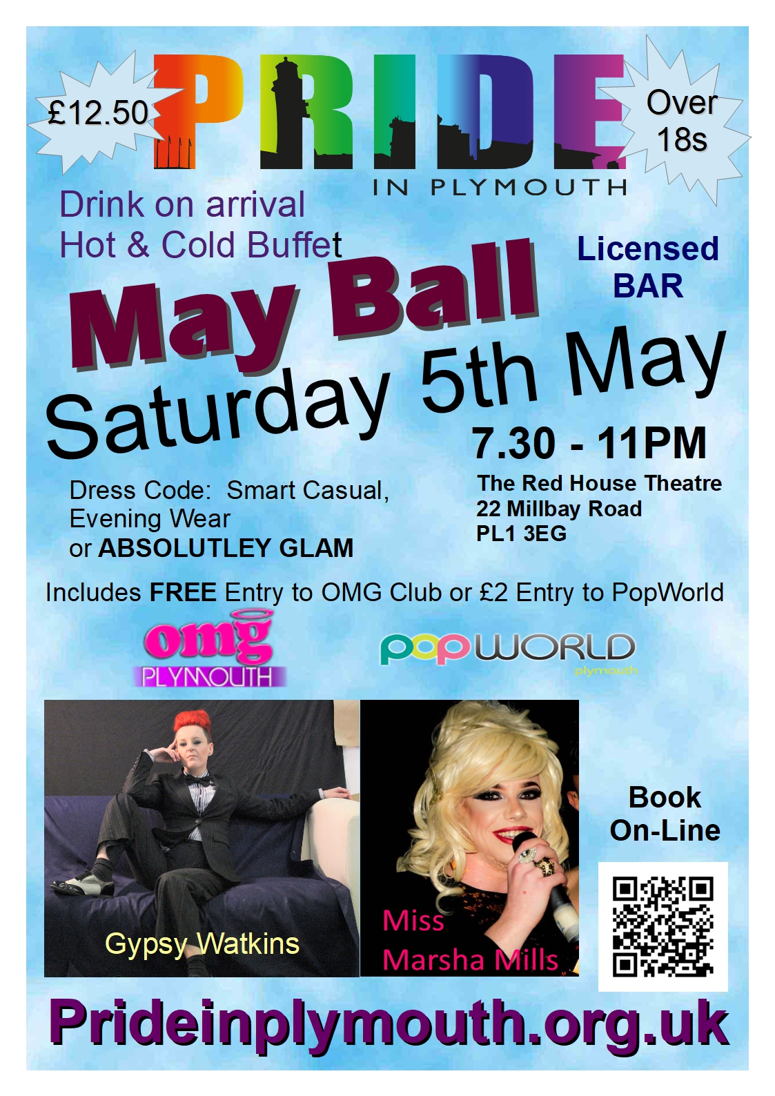 Pride May Ball Poster