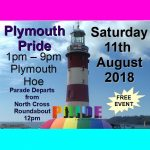 Plymouth Pride Sat 11th Aug 18