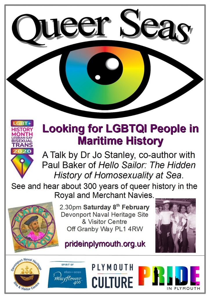 Queer Seas event poster