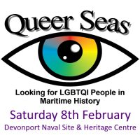 Come along to see and hear about 300 years of queer history in the Royal and Merchant Navies.
